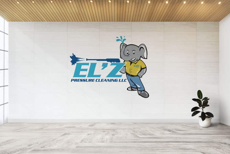 Kilpailutyö #                                        132                                      kilpailussa                                         EL'Z Pressure Cleaning LOGO CONTEST