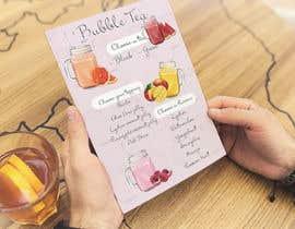 #106 cho Menu Bubble tea design bởi andrianacehnak