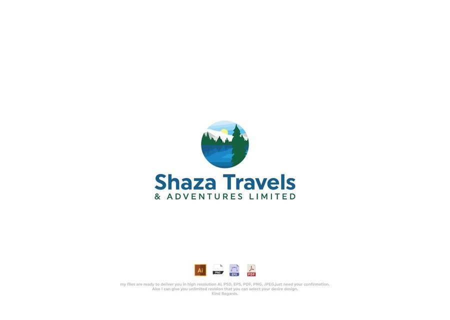 Kilpailutyö #                                        37                                      kilpailussa                                         Shaza Travels Logo Contest