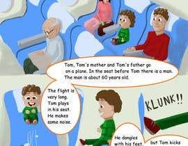 Nro 29 kilpailuun Draw double page for children book with four illustrations and text beneath käyttäjältä AleksandarVamp