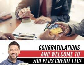 Nro 28 kilpailuun Need (5) individual flyers / graphics made for automatic emails sent to credit repair clients käyttäjältä maidang34