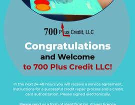 Nro 22 kilpailuun Need (5) individual flyers / graphics made for automatic emails sent to credit repair clients käyttäjältä mehedia234