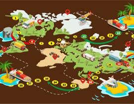 #41 para Illustrate a mobile game map por nk343652