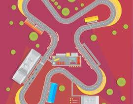 #55 para Illustrate a mobile game map por nk343652