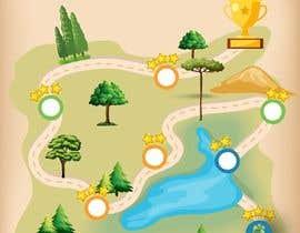 #47 para Illustrate a mobile game map por solaimanc95