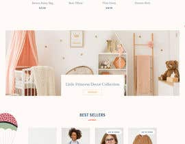 #10 para Build me a website to SELL baby clothing por SuzonOfficial
