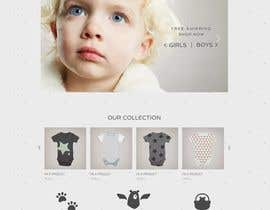 #17 para Build me a website to SELL baby clothing por ismailzer40