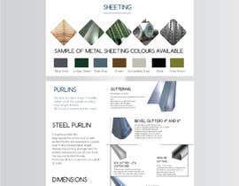 #86 untuk Create a business product and service brochure oleh azahermia
