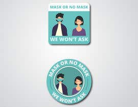 #40 untuk Sticker for optional masks oleh mayaXX