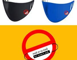 Nro 47 kilpailuun Sticker for optional masks käyttäjältä devoliver09