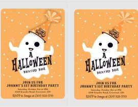 Nro 75 kilpailuun Quick Invitation Design, Halloween Birthday käyttäjältä ConceptGRAPHIC