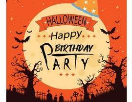 Nro 88 kilpailuun Quick Invitation Design, Halloween Birthday käyttäjältä Masia31