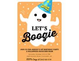 Nro 78 kilpailuun Quick Invitation Design, Halloween Birthday käyttäjältä Soufian1Hilia