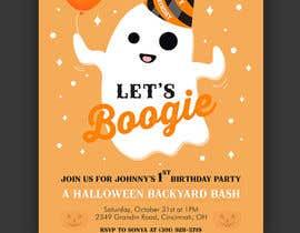 Nro 79 kilpailuun Quick Invitation Design, Halloween Birthday käyttäjältä jramos