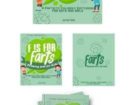 nº 41 pour Design a Book Cover - F is for Farts par thiagof1c4