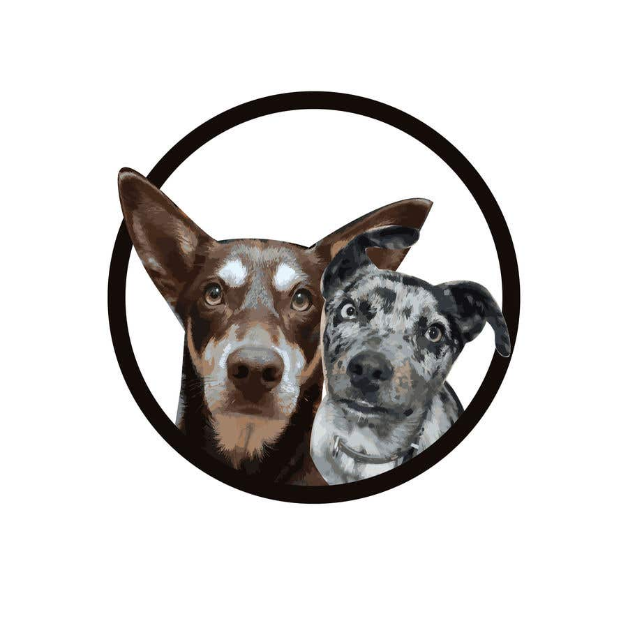 Kilpailutyö #                                        5                                      kilpailussa                                         CARTOON DESIGN LOGO OF DOGS