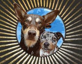 #51 for CARTOON DESIGN LOGO OF DOGS by bashira447