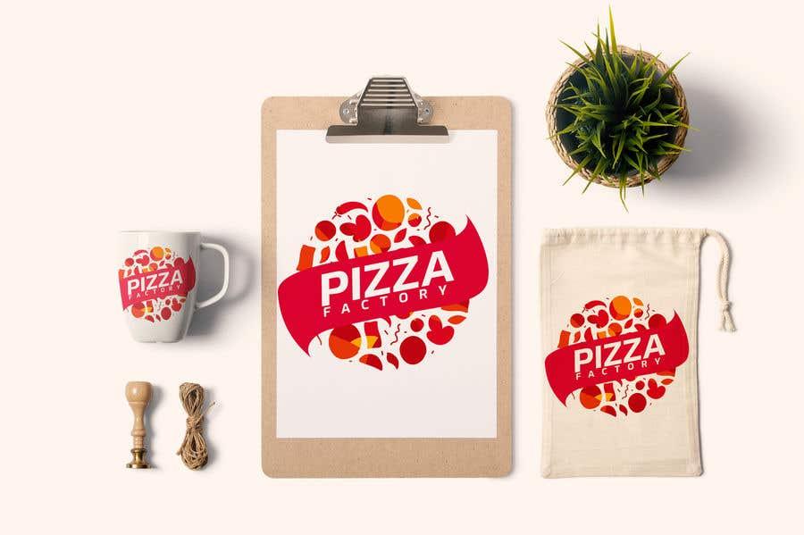 Kilpailutyö #                                        57                                      kilpailussa                                         Branding mockups for Pizza company