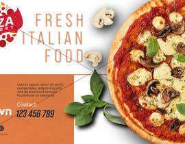 Nro 90 kilpailuun Branding mockups for Pizza company käyttäjältä sheenbeeang
