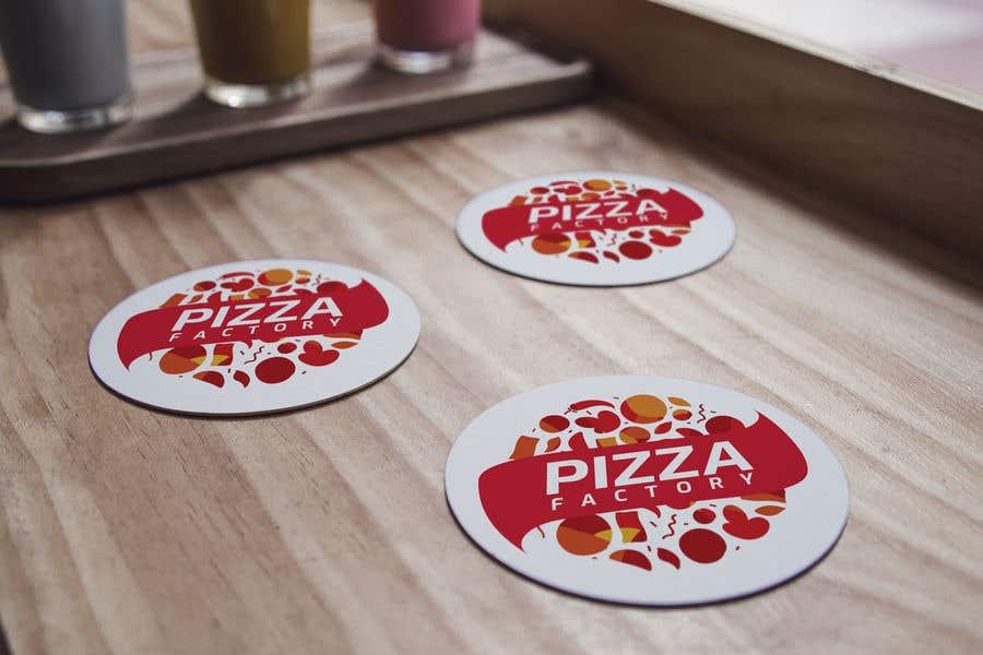 Kilpailutyö #                                        15                                      kilpailussa                                         Branding mockups for Pizza company