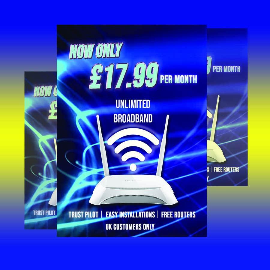 Kilpailutyö #                                        81                                      kilpailussa                                         Create Broadband Advertisement