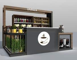 #33 для I need a design/ layout/ 3D model for a 3*4m spice & herbs  kiosk/stand in a shopping center. от TMKennedy