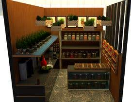 #14 для I need a design/ layout/ 3D model for a 3*4m spice & herbs  kiosk/stand in a shopping center. от redaharif