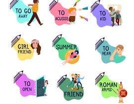 Nro 3 kilpailuun 50+ illustrations for Latin vocabulary training käyttäjältä abcgabriela