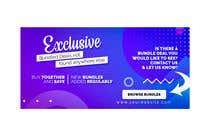 Graphic Design Konkurrenceindlæg #4 for Need Bundle Deals Banners for Website
