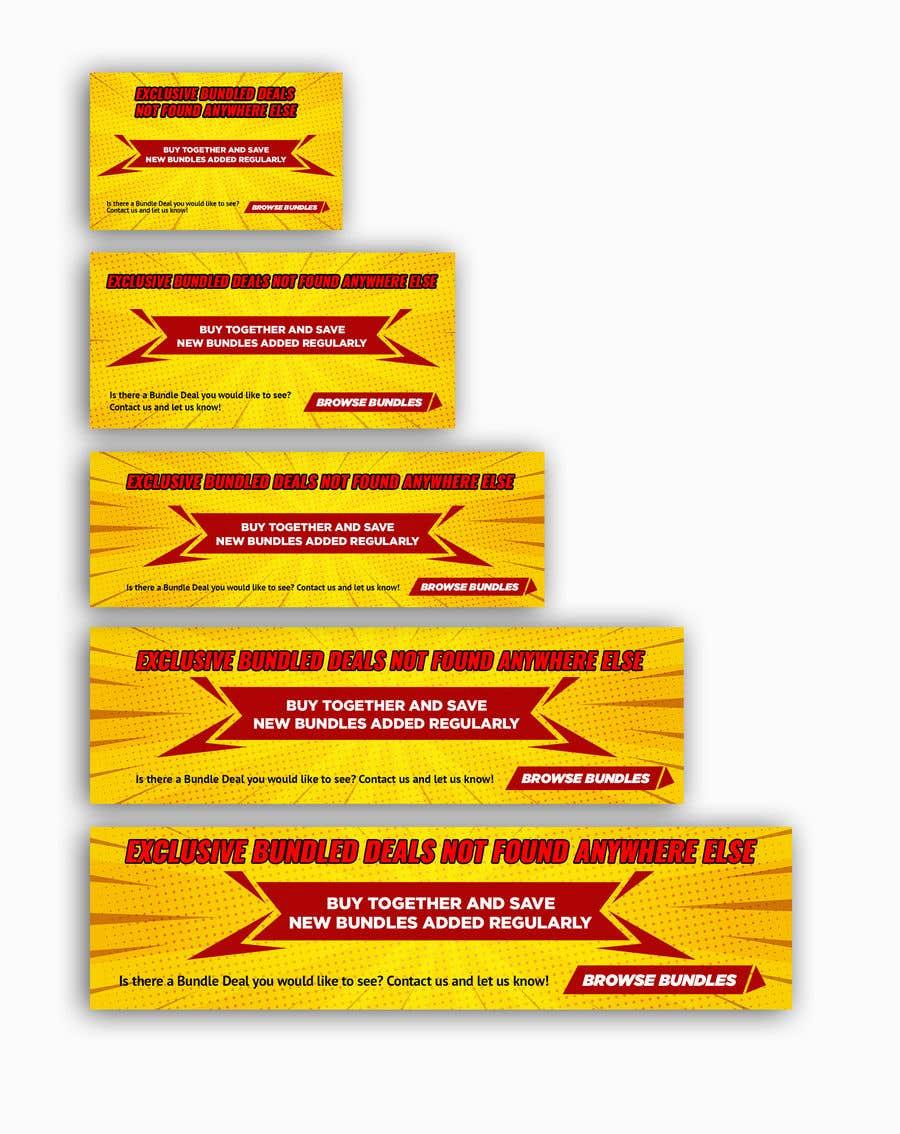 Konkurrenceindlæg #                                        43                                      for                                         Need Bundle Deals Banners for Website