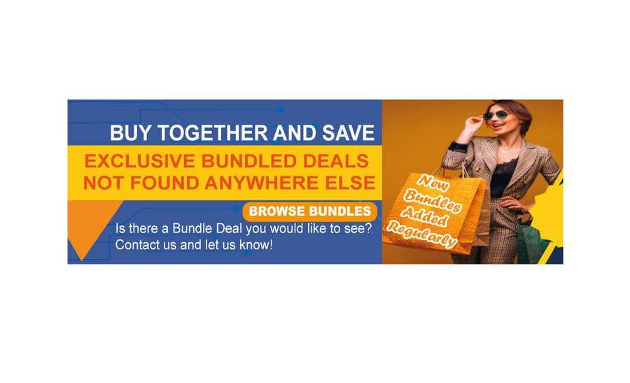 Konkurrenceindlæg #                                        62                                      for                                         Need Bundle Deals Banners for Website
