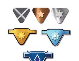 #6 cho Icon Design for Tiered Ranking System bởi zainashfaq8