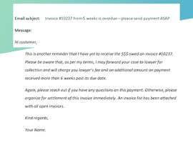#12 cho Letter for monies owed bởi Sumayyah2000