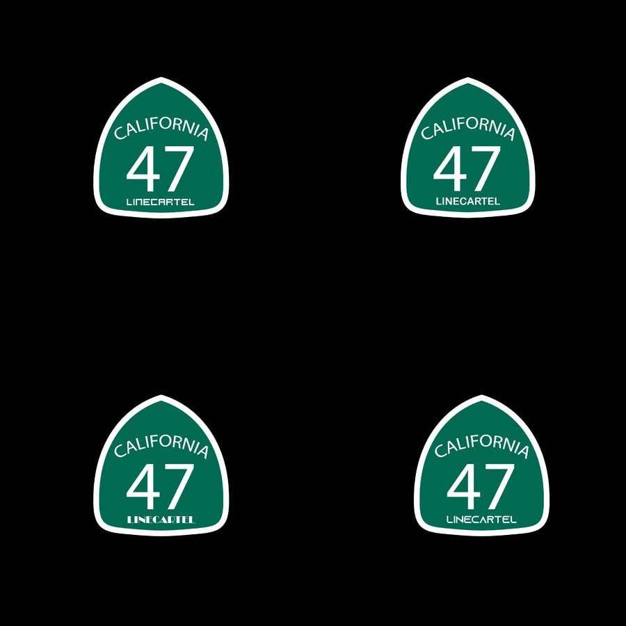 Penyertaan Peraduan #                                        21                                      untuk                                         Line cartel freeway sign
