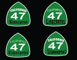 #13 untuk Line cartel freeway sign oleh shamemashraf60