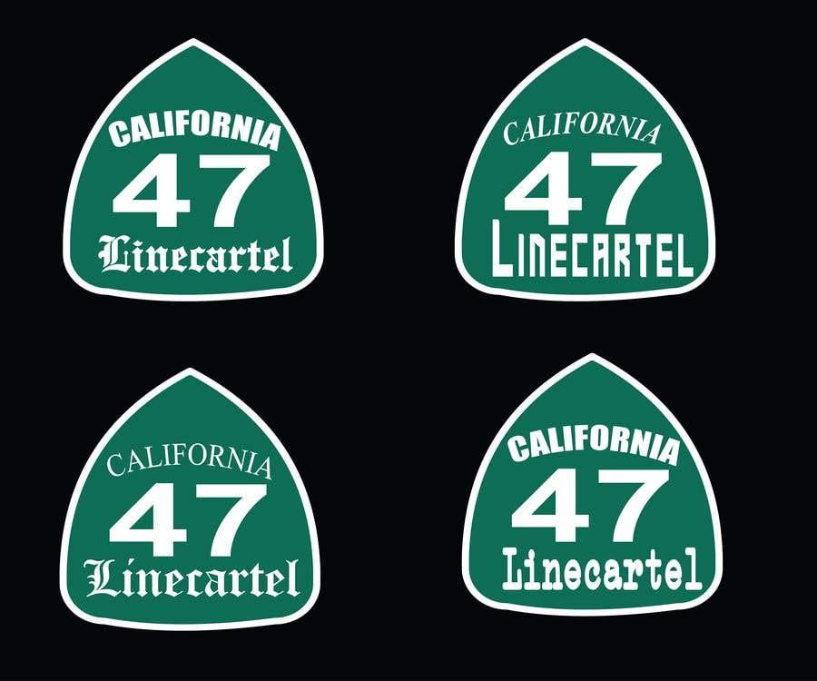 Penyertaan Peraduan #                                        14                                      untuk                                         Line cartel freeway sign