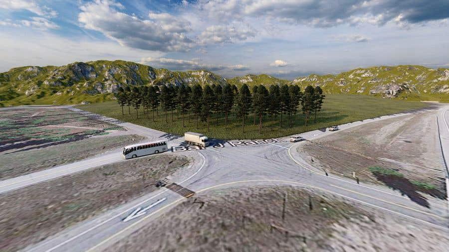 Kilpailutyö #                                        4                                      kilpailussa                                         Build a 3D rendering layout of a campground