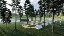 Build a 3D rendering layout of a campground için AutoCAD5 No.lu Yarışma Girdisi