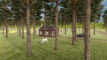 Build a 3D rendering layout of a campground için AutoCAD9 No.lu Yarışma Girdisi