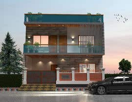 #31 for G+1 Building Front Elevation by mukter728