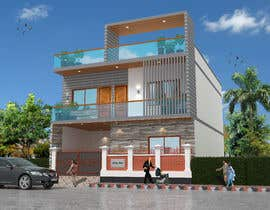 #32 for G+1 Building Front Elevation by mukter728