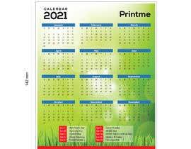 Nro 6 kilpailuun calendar design käyttäjältä sojibgd19936