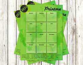 Nro 29 kilpailuun calendar design käyttäjältä UtkU666
