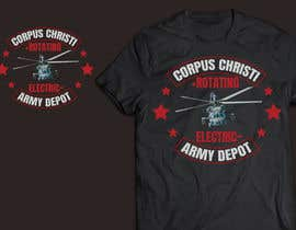 #30 cho I want some color added to it in layers and a uh60 helicopter added in there somewhere.  This is just a concept.  Corpus Christi Army depot and Rotating  Electric both have to be in the design bởi dhrub66Dezines