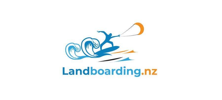 Penyertaan Peraduan #                                        24                                      untuk                                         Logo design for Kite Landboarding, e.g. Kitesurfing, mountainboarding