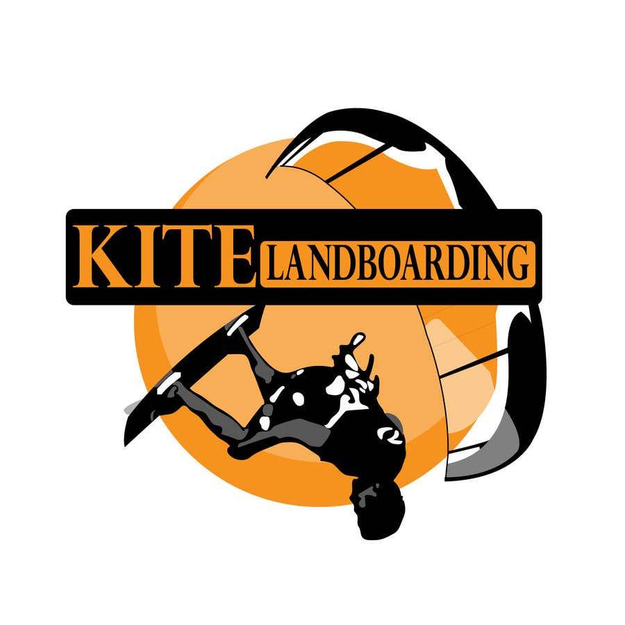 Konkurrenceindlæg #                                        59                                      for                                         Logo design for Kite Landboarding, e.g. Kitesurfing, mountainboarding