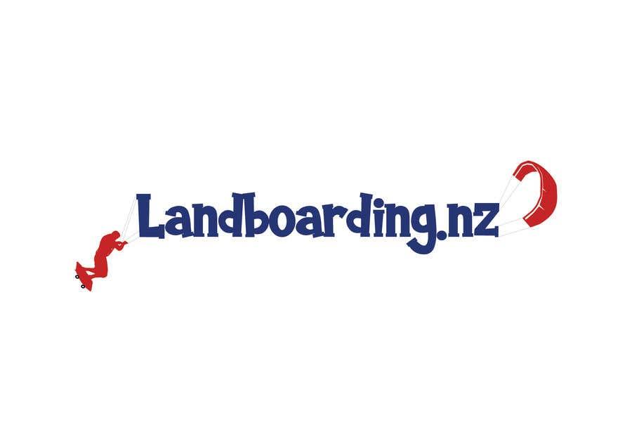 Konkurrenceindlæg #                                        44                                      for                                         Logo design for Kite Landboarding, e.g. Kitesurfing, mountainboarding