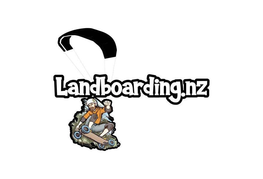 Konkurrenceindlæg #                                        81                                      for                                         Logo design for Kite Landboarding, e.g. Kitesurfing, mountainboarding