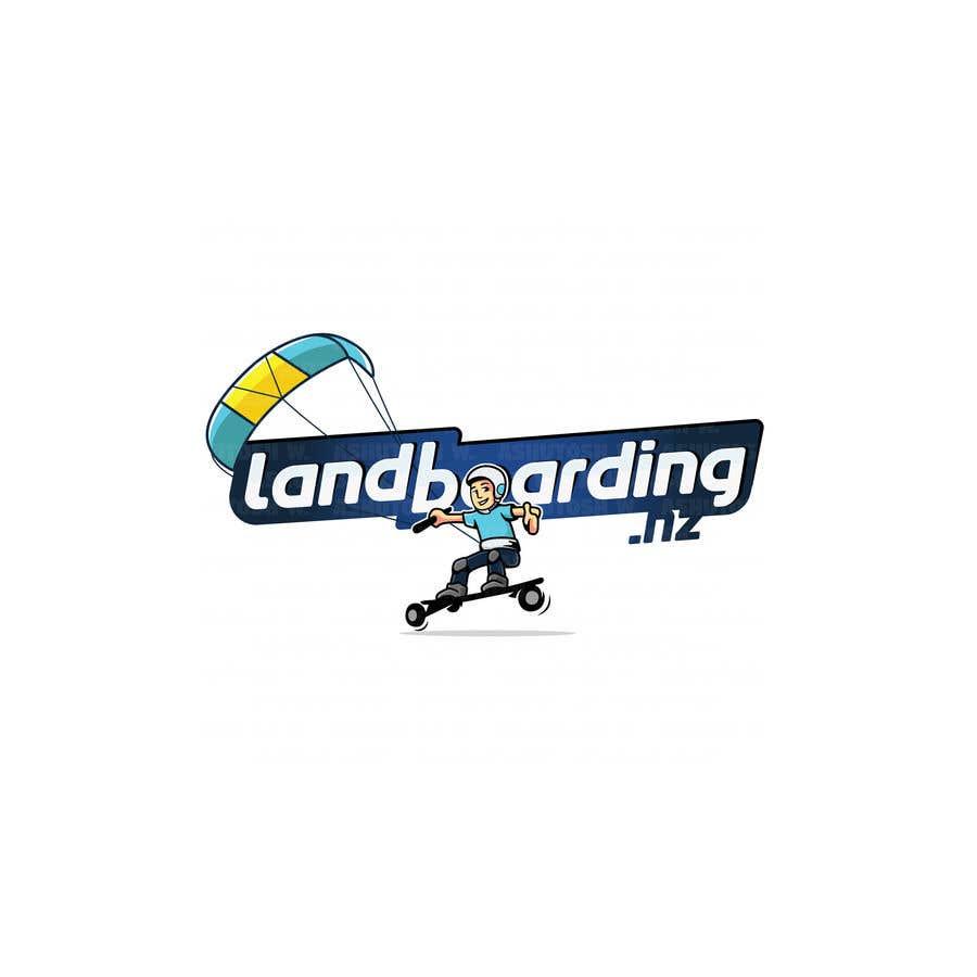 Konkurrenceindlæg #                                        79                                      for                                         Logo design for Kite Landboarding, e.g. Kitesurfing, mountainboarding