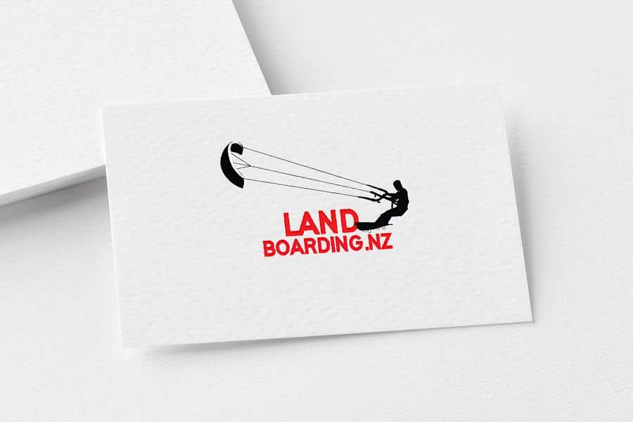 Penyertaan Peraduan #                                        82                                      untuk                                         Logo design for Kite Landboarding, e.g. Kitesurfing, mountainboarding